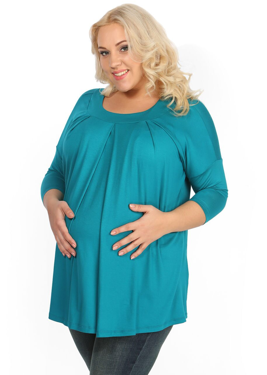 Тёплая туника для беременных 67