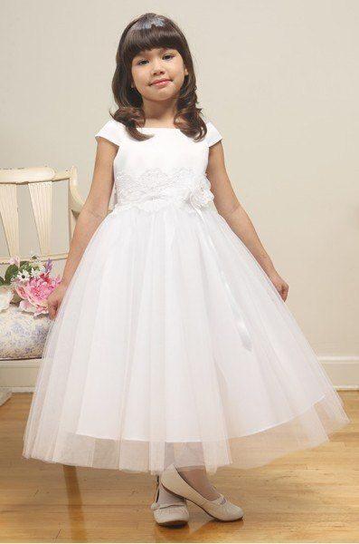 Фото белое платье для девочки