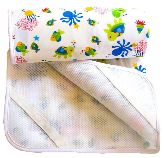 Непромокаемый наматрасник в детскую кроватку своими руками