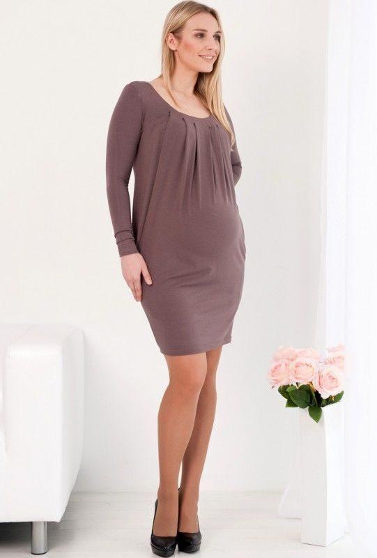 a45f97d5b98d Платье для беременных Тюльпан, фундук - СКИДКА