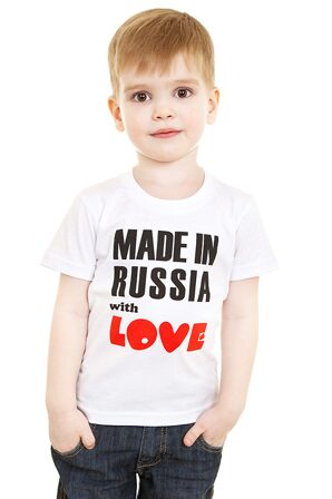 Футболка детская Made in Russia...